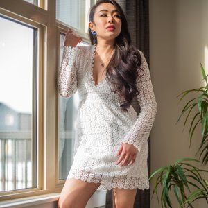 🔥FLASH SALE🔥Mia Crochet Midi Dress